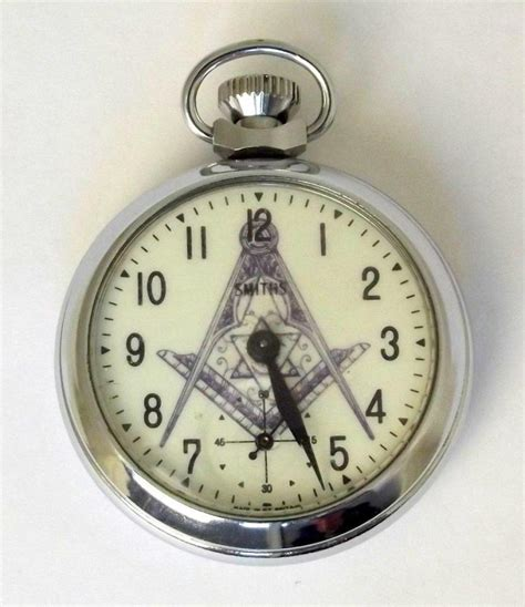 smiths pocket with masonic working order