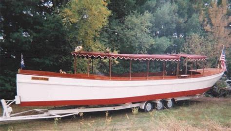 boat building plans for an electric launch free rowing skiff plans fantail launch for sale remote