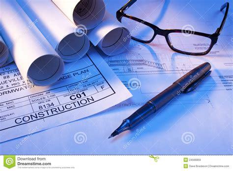 design blueprints architectural house plans blueprints architect stock image image of business diagram 24566859