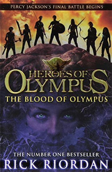 blood of books blood of olympus heroes of olympus book 5 heroes of