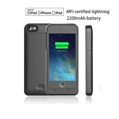 cheap iphone 5 charger mfi certified 2200 mah iphone 5 5s battery charger