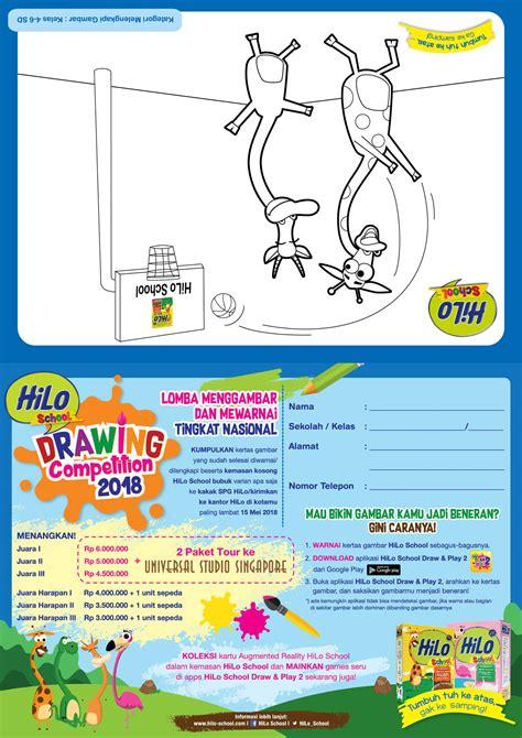 Hilo Ukuran Kecil hilo school drawing competition 2018 tingkat nasional
