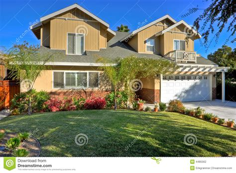 traditional family home stock photography image 4485562