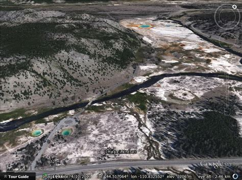 google images yellowstone national park google s 3d is not just for cities google earth blog