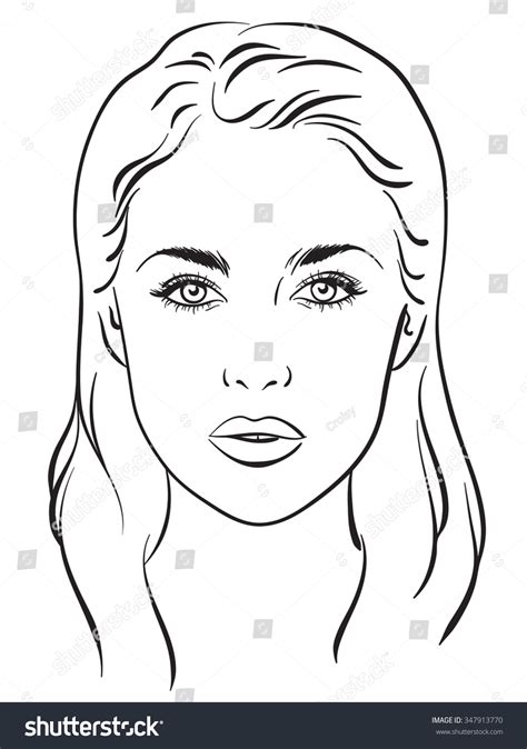 portrait template search results for free makeup chart template