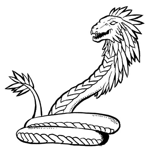 coloring page of garter snakes aboriginal snakes colouring pages