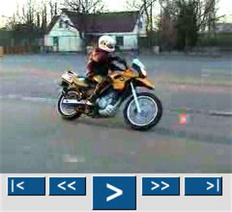 Motorrad Grundfahraufgaben Videos by Grundfahraufgaben Video Kl A Langer Slalom