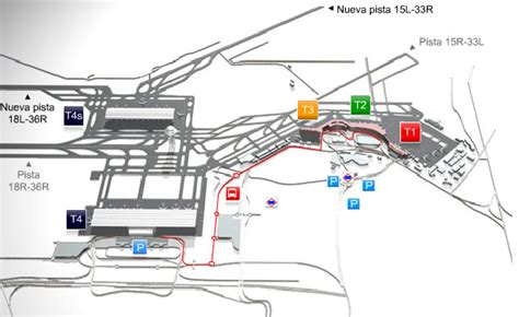 International Airport Floor Plan by Madrid Barajas Airport Mad Passenger Terminals T1 T2
