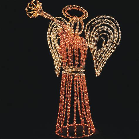 lighted angel outdoor christmas decorations outdoor lighted angel frontgate christmas lights