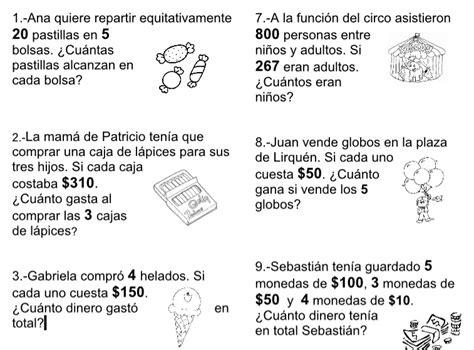 problemas para ni os de cuarto de primaria problemas matematicos para ninos de primaria problemas