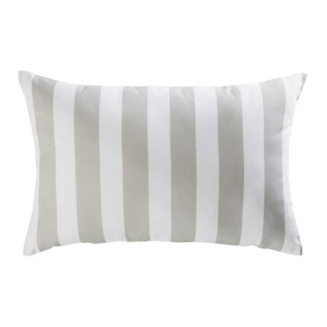 cuscini da giardino cuscino da giardino in tessuto a righe 40x60cm escale