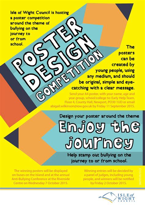 design week competition anti bullying poster competition launched island echo