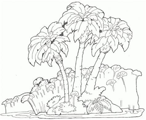 imagenes para pintar un paisaje dibujos de paisajes para colorear