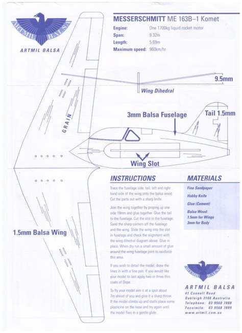 How To Make Your Own Paper Airplane - make your own balsa plane or print out and