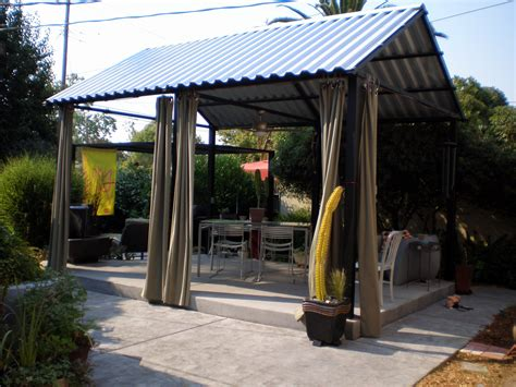 Diy Metal Patio Covers   Outside: Outdoor Living