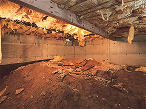 Crawl Space   Solutions for Crawl Space Water & Moisture