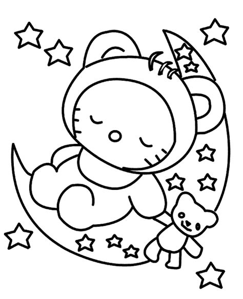 hello kitty soccer coloring pages free coloring page for little children to print or