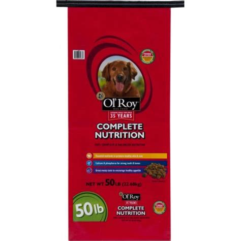 Complete Nutrition Ol Roy Complete Nutrition Food 50 Lb Walmart