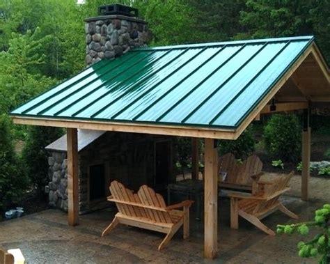 Pergola With Metal Roof Pergola With Roof Design Pergola