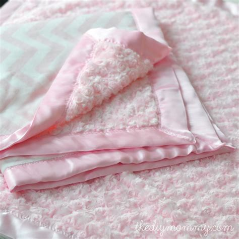 The Softest Blanket by Sew A Minky Satin Bound Baby Blanket