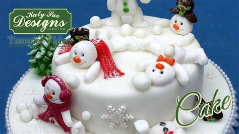 Sugar Syrup Cake Decorating by Sugar Buttons Snowman Mould For Cake Decorating