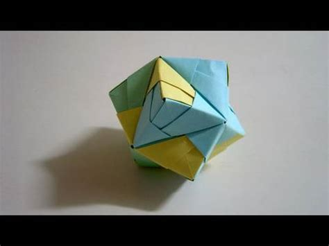 Origami Stellated Octahedron - origami stellated octahedron sonobe as a