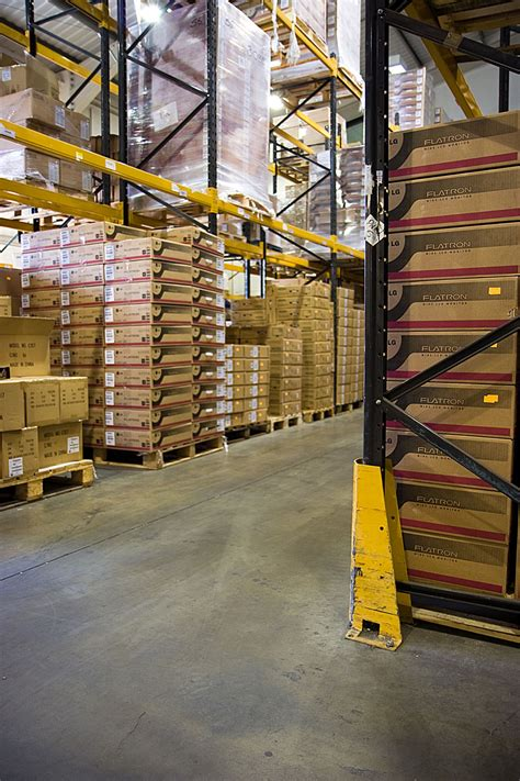 warehouse  stock photo racks   warehouse