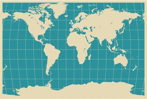 world map free vector bonita ilustraci 243 n mapa mundial en formato vectorial
