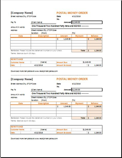Money Receipt Template Illustrator by Money Order Receipt Template At Http Www