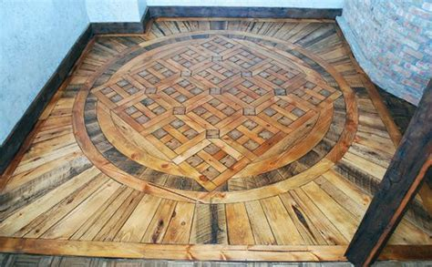 reclaimed wood flooring made from hickory, white oak