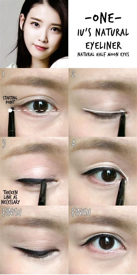 tutorial makeup natural malaysia 6 k pop inspired korean style eyeliners tutorial