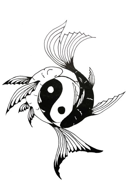 koi fish yin yang tattoo ideas by lizzylikes21 on bird tattoos