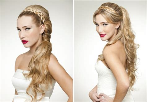 Wedding Hairstyles Half Up Half Plaits by Wedding Hairstyles Half Up Half Plaits Images