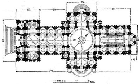 gothic church floor plan texts for craig white s literature courses