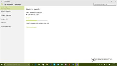install windows 10 build 10240 nueva actualizaci 243 n para windows 10 build 10240
