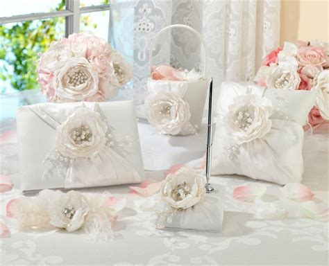 matching wedding accessories set chic shabby