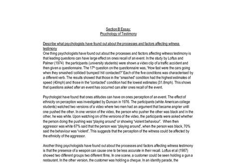 My Testimony Essay by Eyewitness Testimony Essay Eyewitness Testimony Essay Eyewitness Testimony Essay Outline And