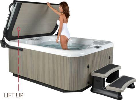 outdoor whirlpool laufende kosten smartop klein costal grey f 252 r whirlpool abdeckung