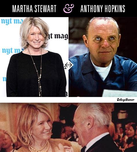 Martha Stewart Stopped Dating Anthony Because Of Hannibal Lecter by 20 You Didn T Had Chaostrophic