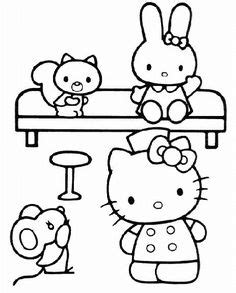 hello kitty nurse coloring pages hello kitty nurse wallpaper google search remedies for
