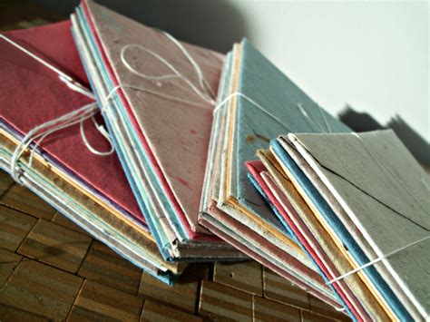 Handmade Paper Envelopes - 10 assorted envelopes handmade paper envelope recycled paper