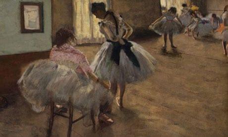 royal academy to showcase edgar degas' ballet paintings