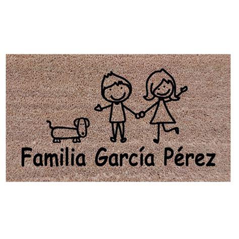 felpudos personalizados felpudos personalizados familias