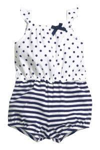 Jumpsuit Next Bean 3 In 1 Size 6m sleeveless jumpsuit white blue sale h m us