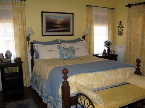 Bedroom Decorating Ideas With Toile Country Blue Bedroom Decorating Ideas Yellow Toile Redo