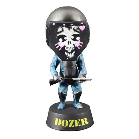 Helm Ss7 payday 2 18cm dozer helmet figurine bobblehead with ingame