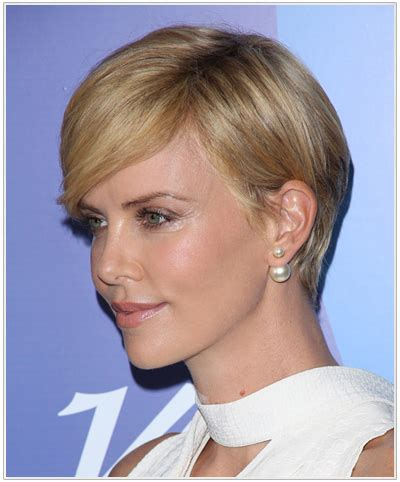 short haircuts behind the ears short hairstyles for women tucked behind ear puffy in back