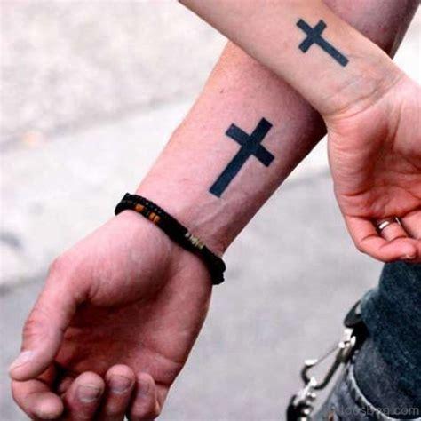 phenomenal cross tattoos  wrist