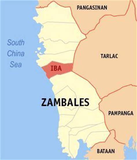 iba zambales resort map iba