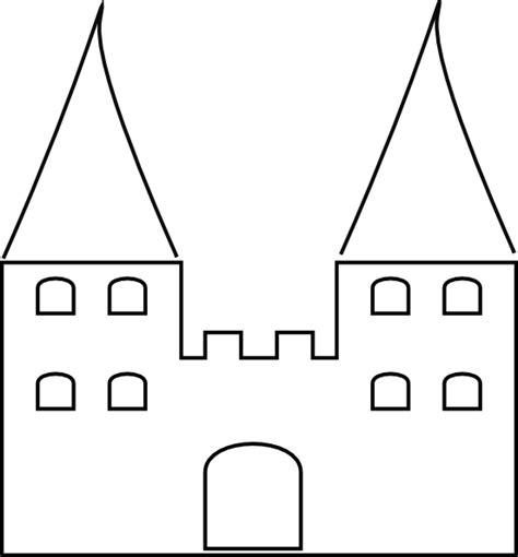 castle 2 clip art at clker com vector clip art online